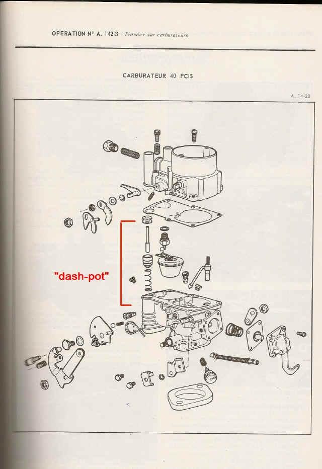 carburateur solex mehari